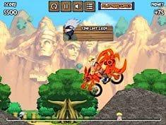 naruto bike mission juegos de bicicletas en juegosjuegoscl
