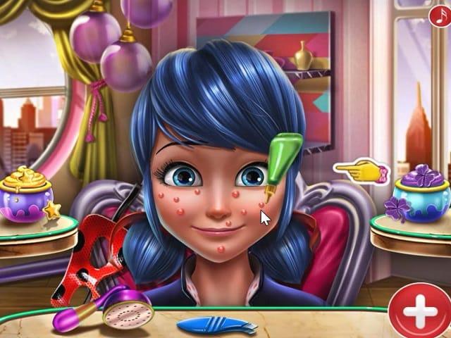 Ladybug Glitter Makeup | Juegos de Chicas en JuegosJuegos.com