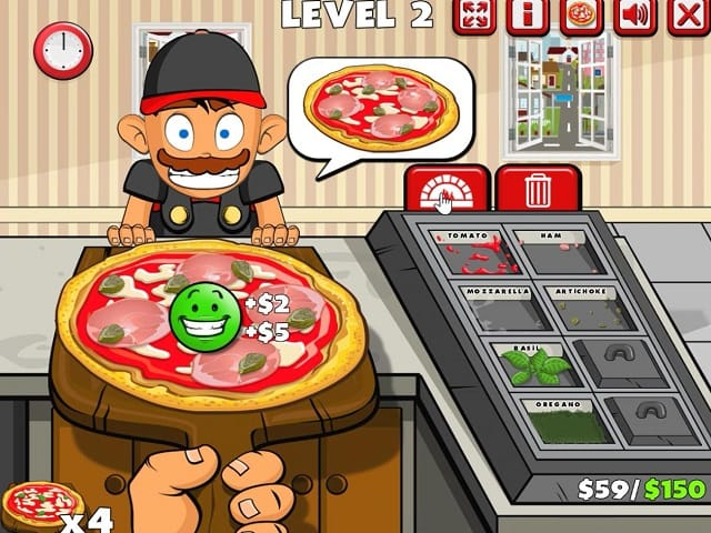 PIZZA PARTY Juego Online
