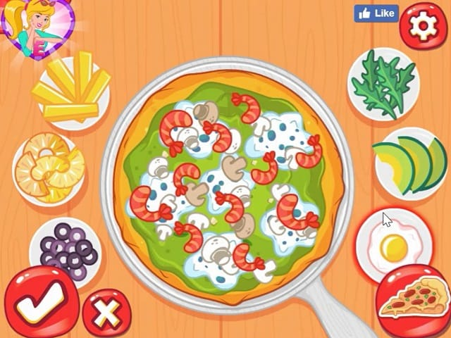 DISNEY PRINCESSES PIZZA PARTY Juego Online