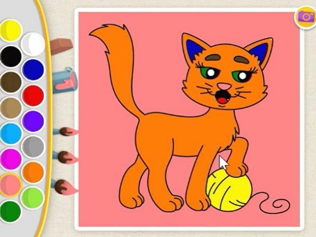 Kids Color Book | Juegos Infantiles en JuegosJuegos.com