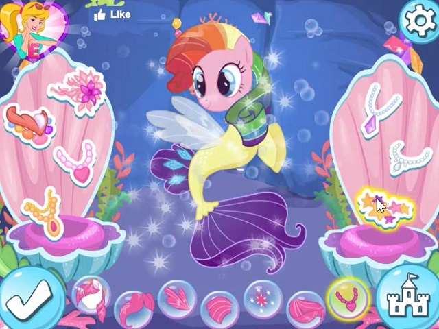 My Little Pony Adventures In Aquastria Juego Online En