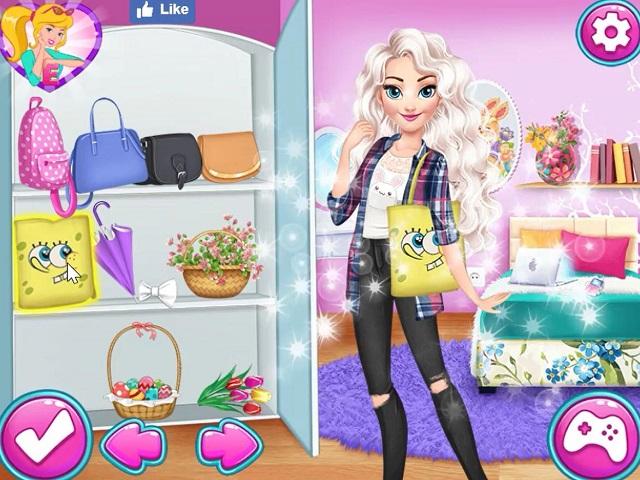 Year Round Fashionista Elsa Juego Online En Juegosjuegos