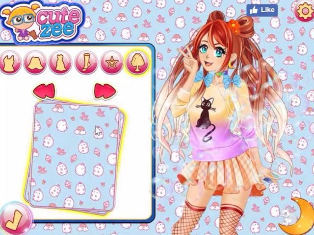 De Manga Vestir Creator Anime Juegos aqz7pp