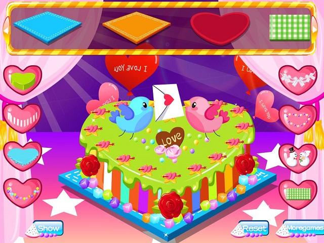 ROMANTIC CAKE Juego Online