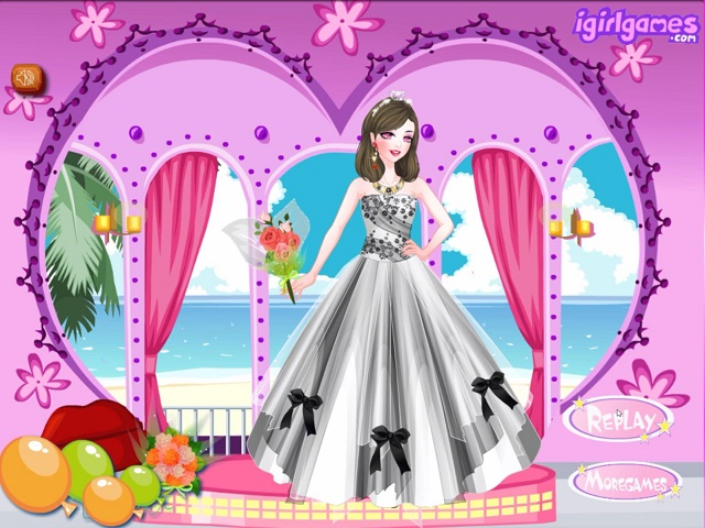 being pretty bride (juego online) - juegosjuegos.ar